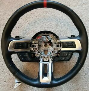 Ford Mustang Gt 2015 2020 Oem Steering Wheel With Paddles And Switches