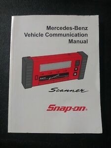 Snap On European Vehicle Communication User S Manuals Mt2500 Solus Modis Scanner