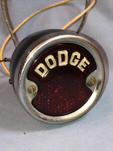 Dodge Brothers Vintage Tail Light 1927 1928 1929 1930 1931 1932 Hot Rat Rod