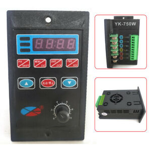 Ac110 220v Single To 3 Phase Variable Frequency Drive Inverter Converter 750w Us