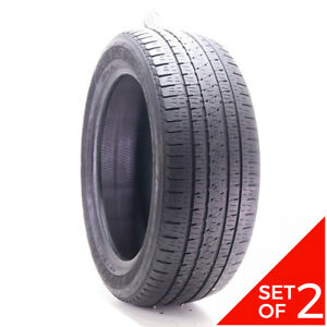 Set Of 2 Used 265 50r20 Bridgestone Dueler H L Alenza Plus 106v 6 5 8 32