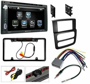 Bluetooth System Dvd Usb Aux Car Stereo Compatible With 2002 03 04 05 Dodge Ram