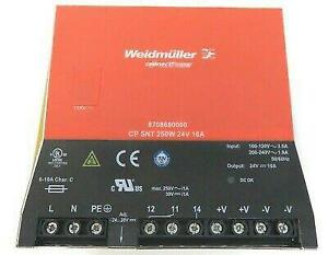 Weidmuller 8708680000 Switching Power Supply Ac dc Converter 24v