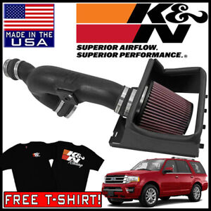 K N Fipk Cold Air Intake System Fits 2015 2017 Ford Expedition 3 5l V6