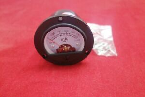 Dc 0 1000ma Round Analog Ammeter Panel Current Dia 66 4mm Dh52 Direct Connect