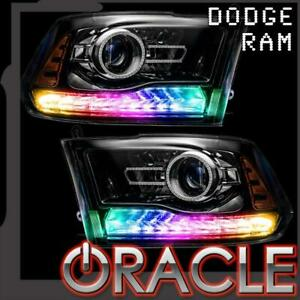 Oracle Dynamic Colorshift Drl Turn Signal Replacement For 2013 2018 Dodge Ram