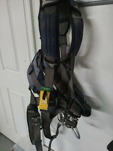Used Dbi Sala Exofit Positioning Safety Harness Iron Worker Tower Lg