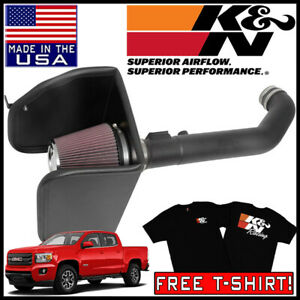 K N Aircharger Cold Air Intake System Fits 2017 2020 Gmc Canyon 3 6l V6
