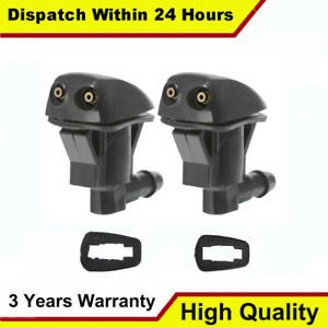 2 Windshield Washer Spray Nozzle Jet For 2007 2010 Ford Edge Lincoln Mkx 3 5l