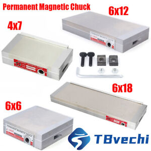 Magnetic Chuck For Grinding Machine Permanent Magnetic Chuck 4 7 6 12 6 18