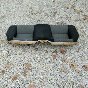 1994 1999 Toyota Celica Coupe Black W Gray Cloth Rear Seat Cushion Lower Bottom