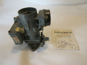 Willys Jeep 1951 1962 Amc Rambler 196 6cyl Jeep Carter Carburetor Yf 3380s