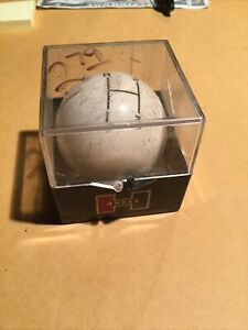 Vintage Hurst 3 Speed Shift Knob In Original Box W Instructions Dated 1967