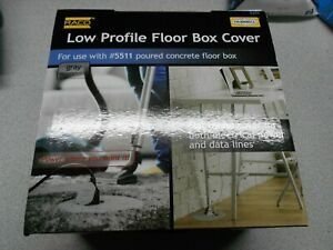 Hubbell 6299 Floor Box Cover New In Box Free Shipping