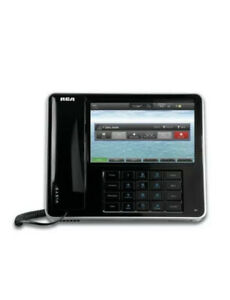 Rca Ip150 6 Line Multimedia Voip Phone 7 Touchscreen Display Android Os used