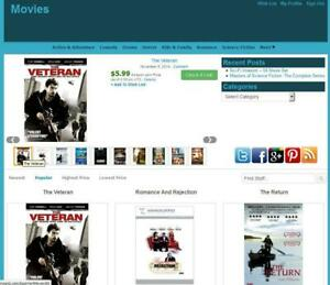 Movie Store Amazon Affiliate Earning Website Free Hosting installation