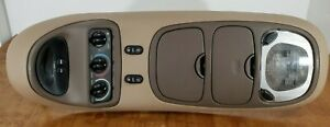 97 02 Expedition Overhead Console Digital Display Lights Storage Vent Switch