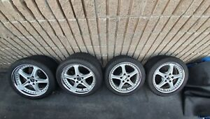 Ssr Speedstar Gp 0 Evo Double Staggered Wheels Fits Nsx And S2000