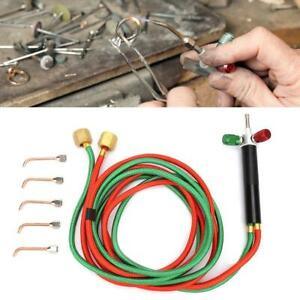 Professional Gas Oxygen Acetylene Oxy Welding Cutting Torch Kit Tool With 5 Tips