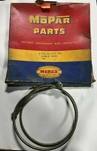 1949 Nos Plymouth Dodge Chrysler Speedo Cable Assembly Housing 1257335 1261403