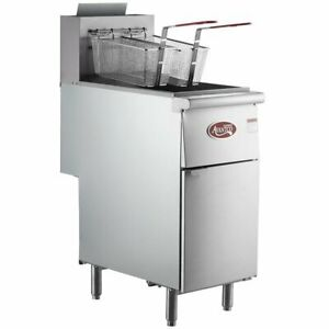 Liquid Propane Or Natural Gas Avantco Ff300 40 Lb Deep Fryer Kitchen Restaurant
