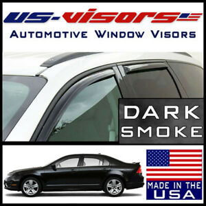Us Visors 2006 2012 Ford Fusion In Channel Window Vent Visors Rain Guards 4pc