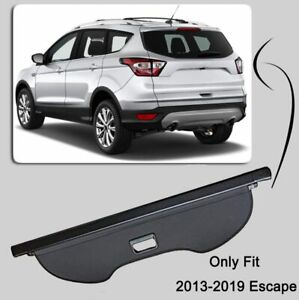 Caartonn Cargo Cover For 2013 2019 Ford Escape Rear Trunk Shield Security Shade