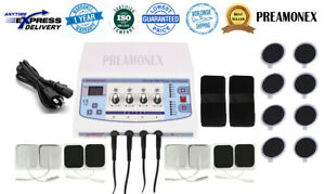 Professional Electrotherapy Physical Pain Relief Therapy Machine 4 Channel Nbh