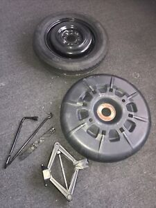 08 09 17 18 19 Chrysler Town Country Spare Wheel Rim Tire Floor Jack Tools Lug