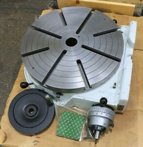 18 W Troyke U 18 Rotary Tbl Horizontal Or Vertical Great Condition
