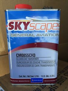1 Case Sherman williams Skyscapes General Aviation Clearcoat Hardener cm0855ch3