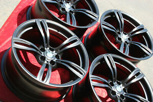 4 20 Inch Factory Oem Bmw M6 Wheels Style 343 Forged Original In Semi Gloss