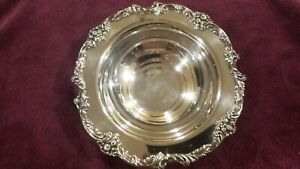 Reed Barton King Francis 1671 Silver Plated Ornate Serving Bowl 12