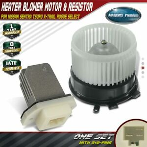 A C Heater Blower Motor Resistor For Nissan Rogue 2008 2013 Sentra 2007 2012