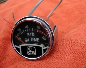Vintage Westberg Westach Ccb Hydraulic Oil Temperature Gauge Hot Rat Rod