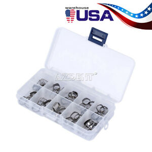 40pcs box Dental Orthodontic Braces Preformed Space Maintainer Band And Loop