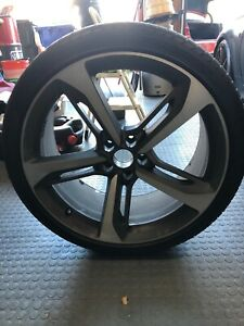 Audi Rs7 21 Wheel Oem 5x112 21x9 35 One Set 4 Wheels And Tires