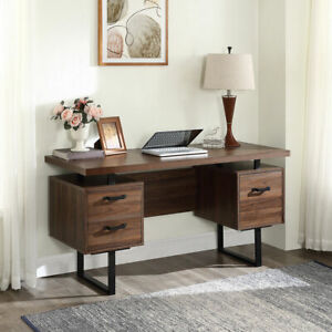 59 Large Home Office Computer Desk W 3 Drawers Workstation Study Writing Table
