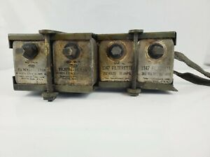 Ww2 Jeep Mb Gpw Original Filterette Pack Military Communications Radio Parts