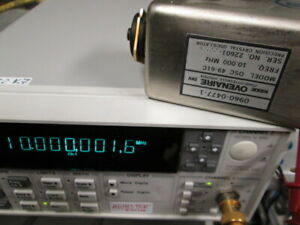 Hp 0960 0477 Frequency Reference Tested Ovenaire Osc 49 61c Crystal Oscillator