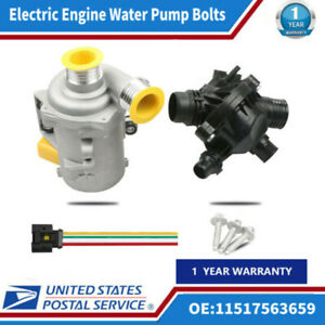 Electric Water Pump Kit Thermostat Cooling New Fit For Bmw 328i 323i 128i Z4 X3