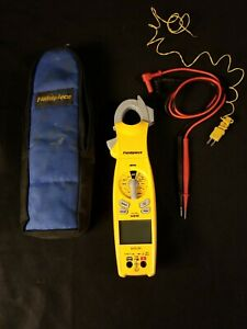 Fieldpiece Sc640 True Rms Clamp Meter Leads Inrush Swivel Head Mfd Temperature