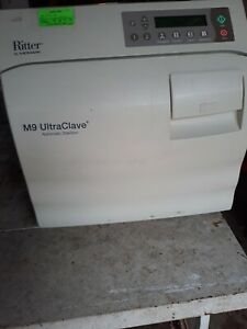 Midmark Ritter M9 022 M9 Ultraclave Automatic Sterilizer 160 Cycles