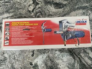 Lincoln 1133 Heavy duty Pistol Grip Manual Grease Gun With 18 Whip Hose