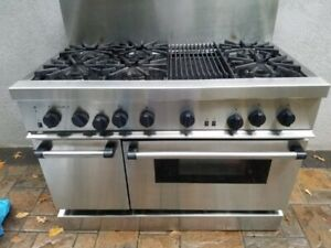 Thermador 48 Inch Gas Range And Oven