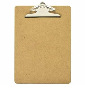 Officemate Wood Clipboard Letter Size Recycled 1 Clipboard 83100