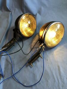 B L C B L C 5 3 4 Guide Fog Driving Lights Rat Rod Model A T Ford Chevy Buick
