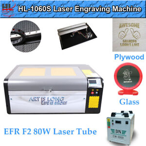 Hl Efr 80w Co2 Laser Engraver Cutter 39 24 Engraving Cutting Machine 2020 New