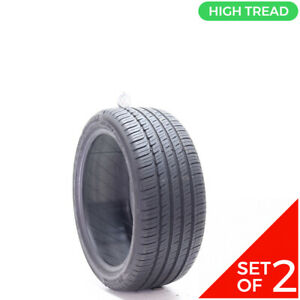 Set Of 2 Used 235 40r18 Michelin Primacy Mxm4 Mo 91h 8 9 32