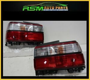 New Fits To Corolla 93 97 Euro Red Candy Taillights Ae100 2pcs